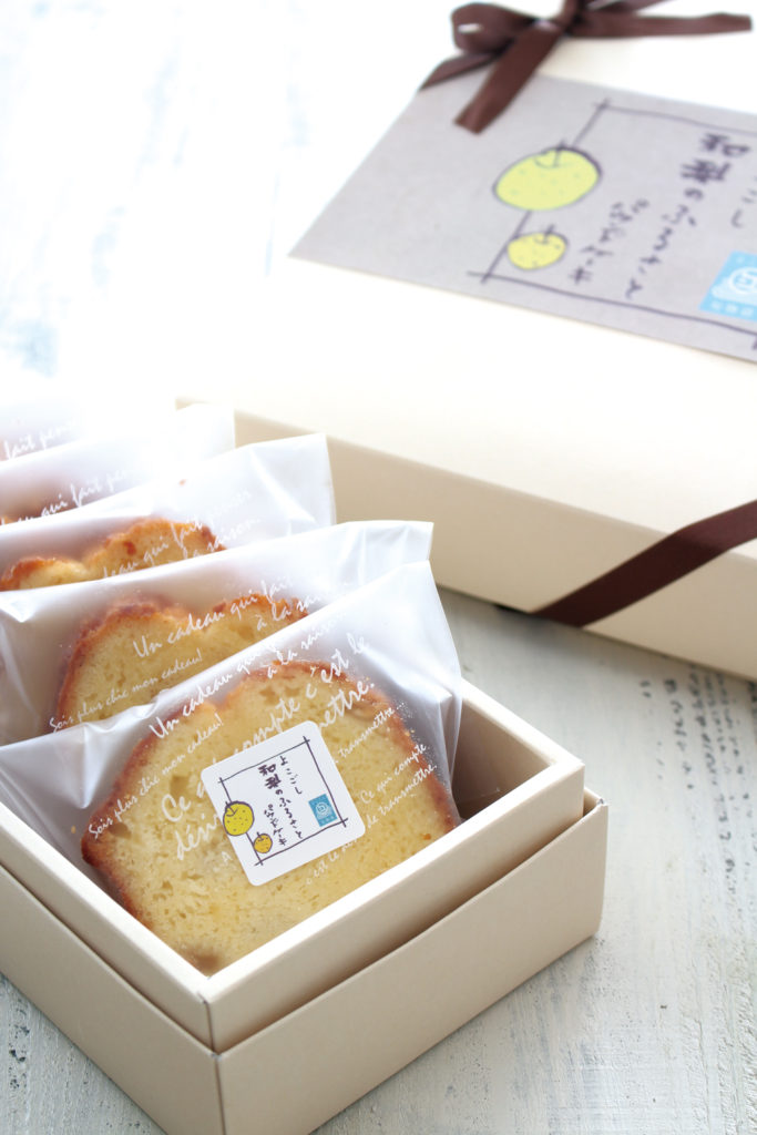 新潟市江南区えんでばよこごし 和梨のふるさとパウンドケーキ